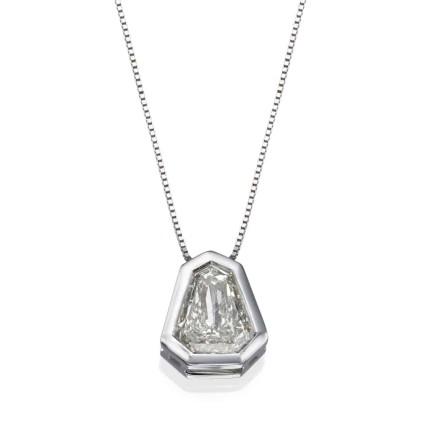 שרשרת יהלומים - תליון ספטגון