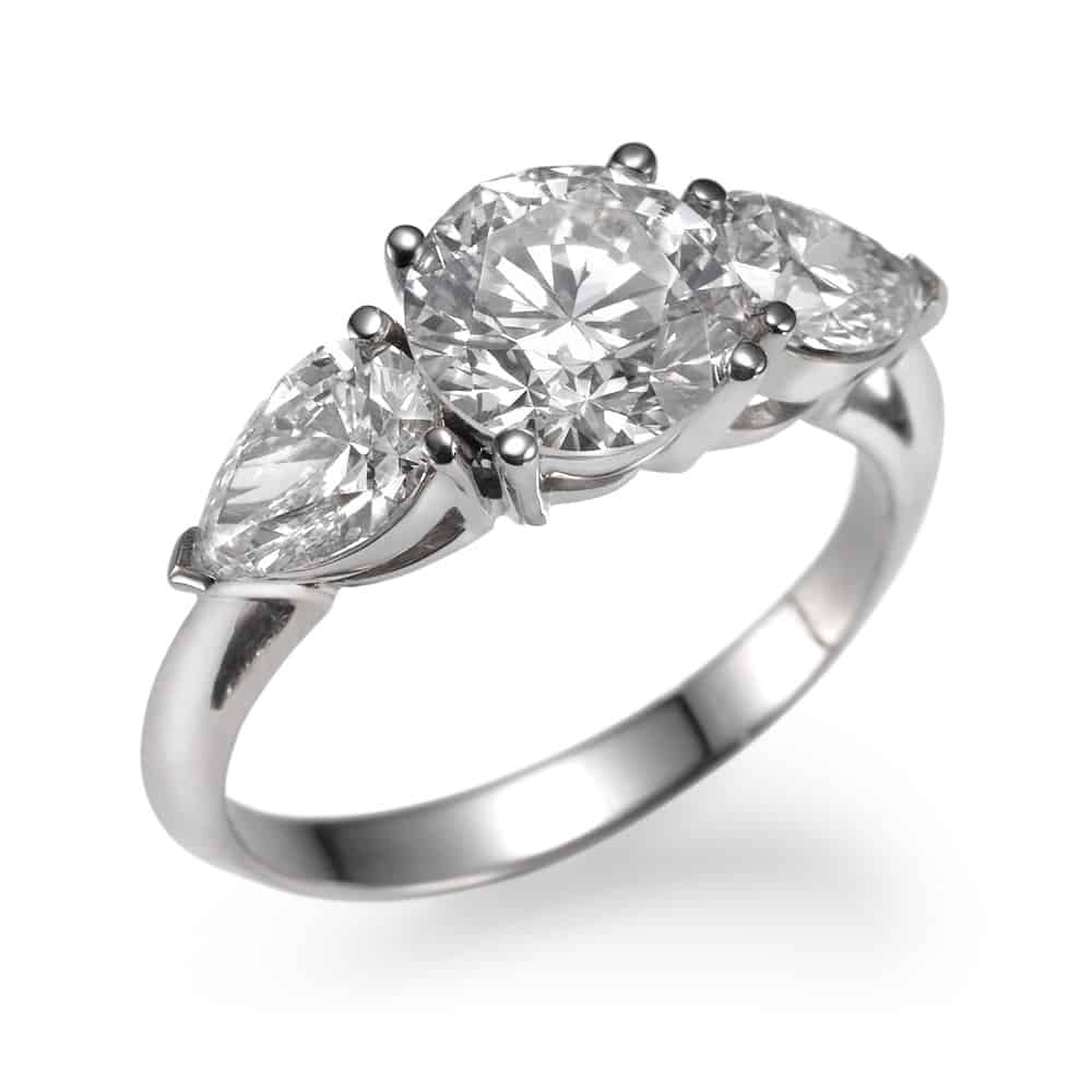 טבעת אירוסין טרי סטון קלאסית