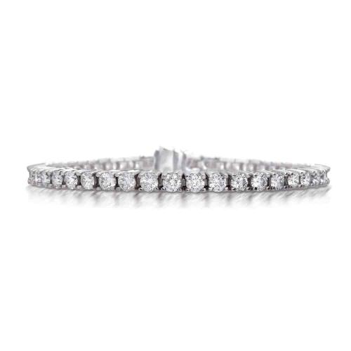 צמידי יהלומים - צמיד טניס