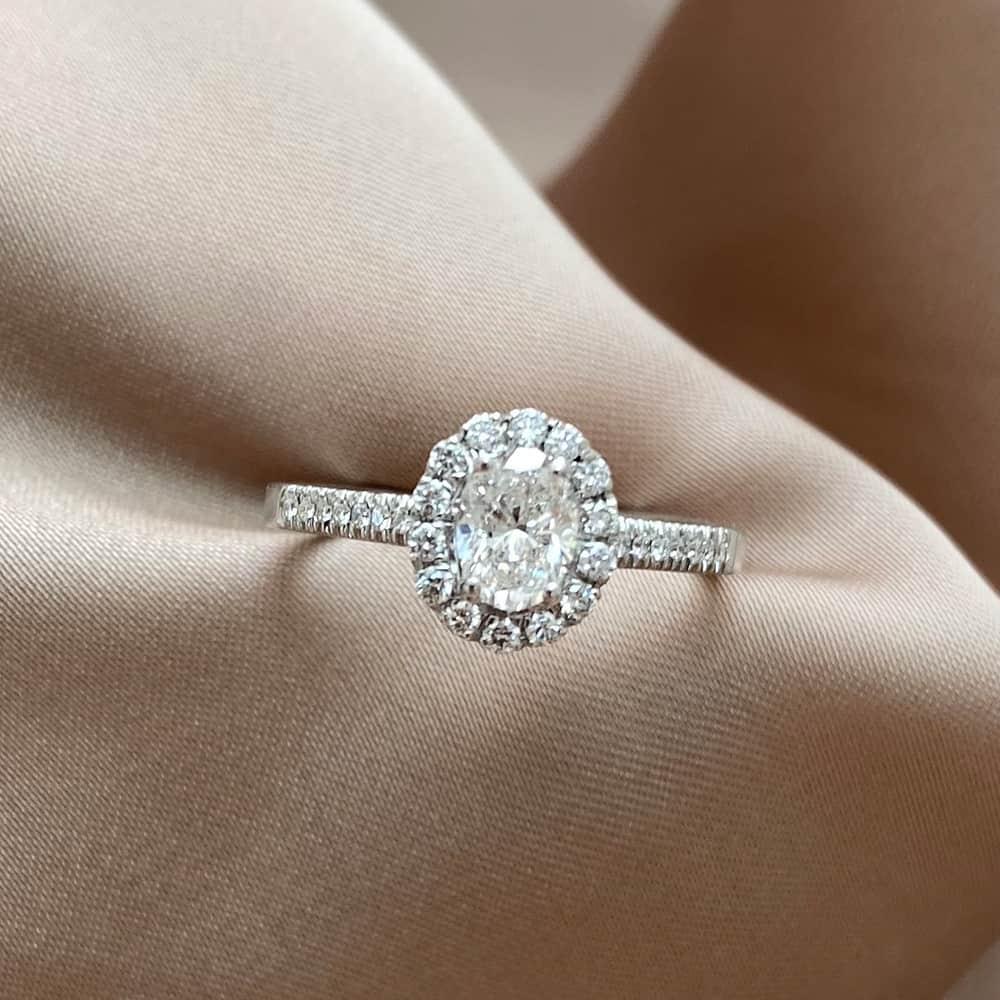 טבעת אירוסין דיאנה אובל