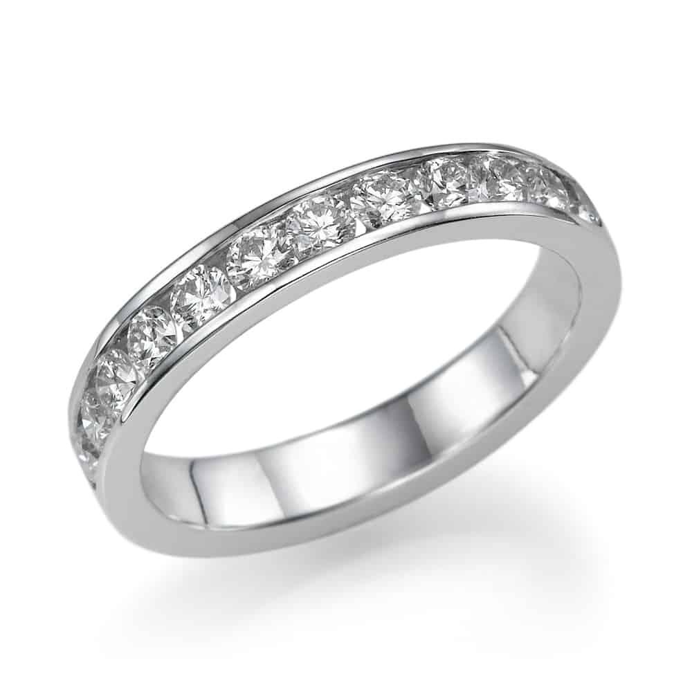 טבעת אירוסין - טבעת יהלומים - דגם טבעת קנל