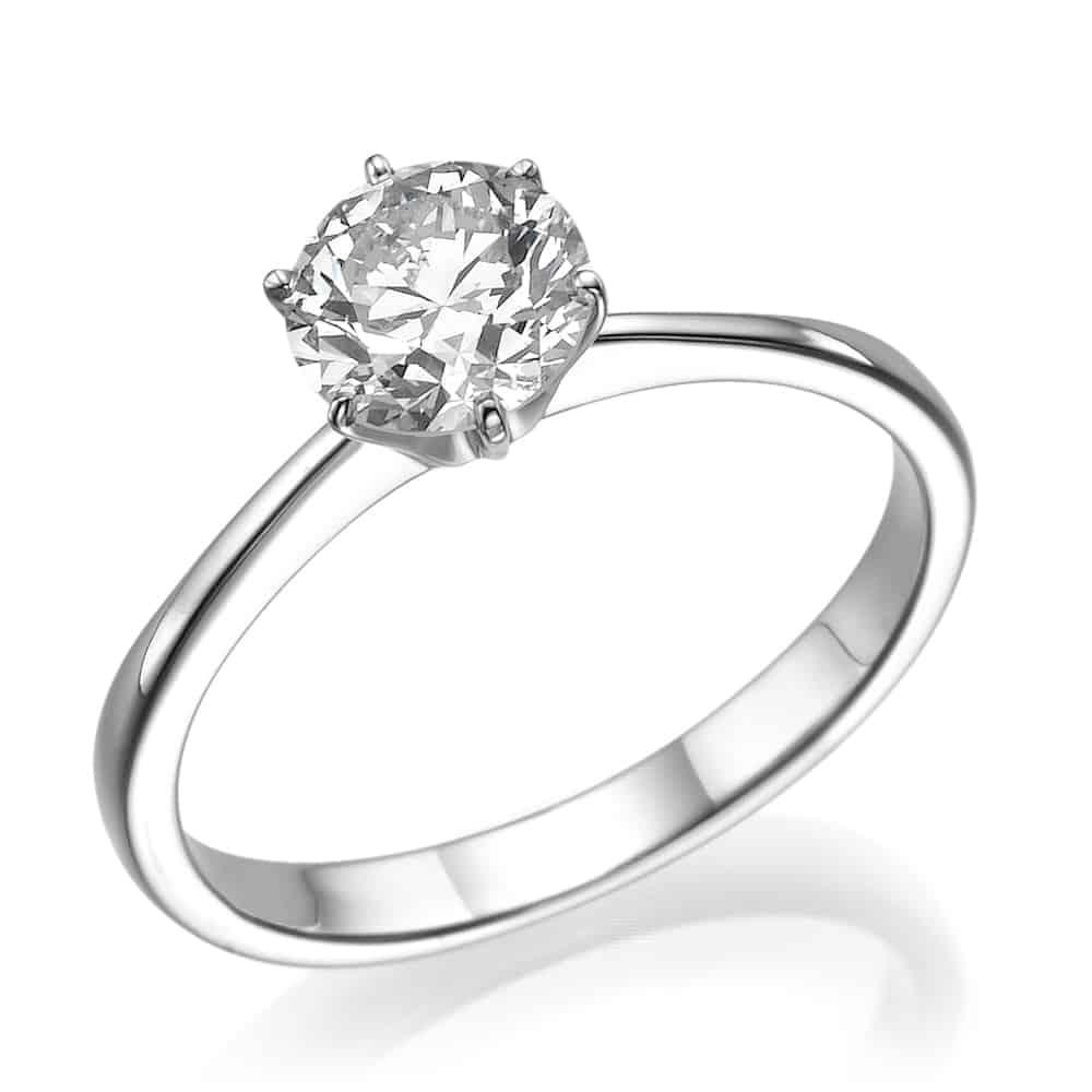 טבעת אירוסין סוליטר דגרדה
