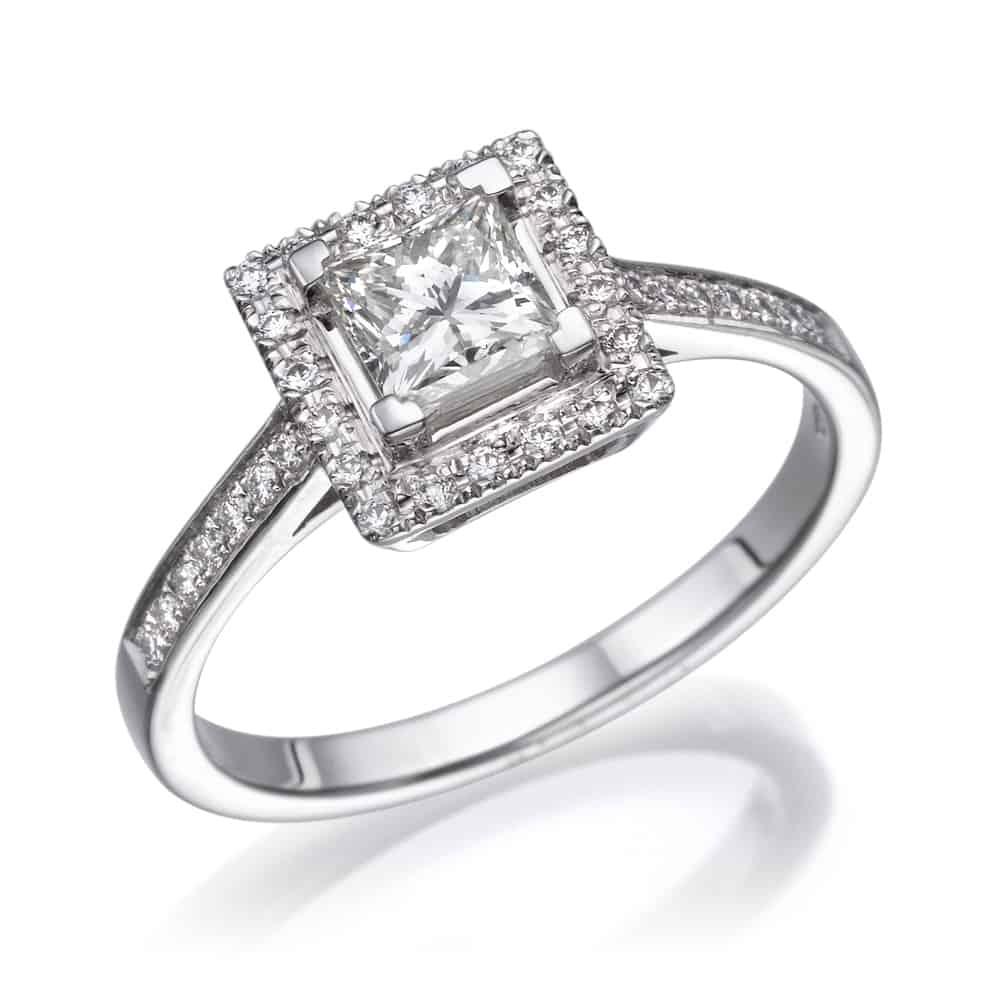 טבעת אירוסין פרינסס רונה
