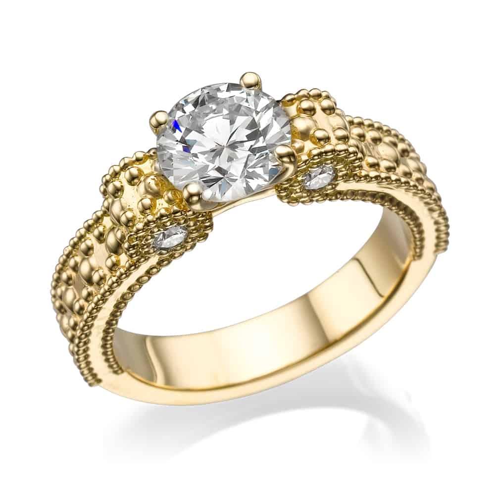 טבעת אירוסין פפיון