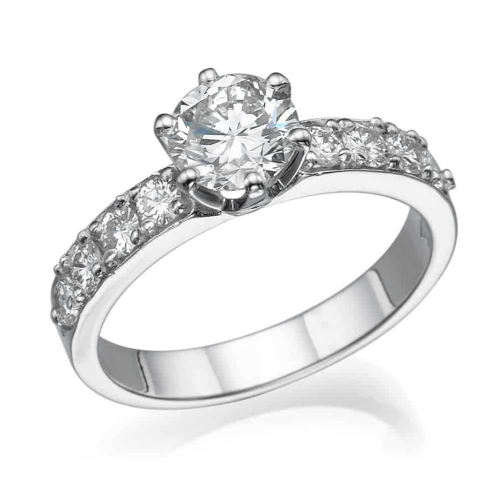 טבעת אירוסין כתר