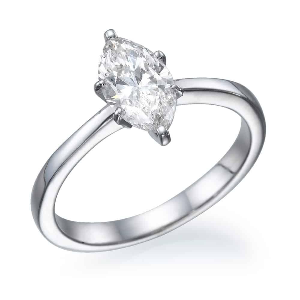 טבעת אירוסין מרקיזה