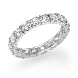 טבעת יהלומים - טבעת אינפיניטי