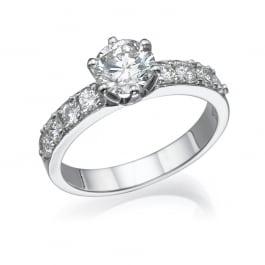 טבעת אירוסין - כתר