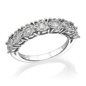 טבעת אירוסין - טבעת יהלומים - דגם איטרניטי