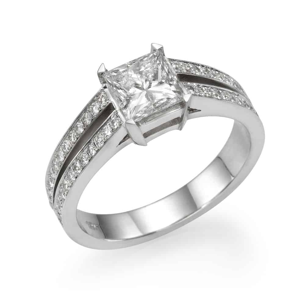 טבעת אירוסין לירון