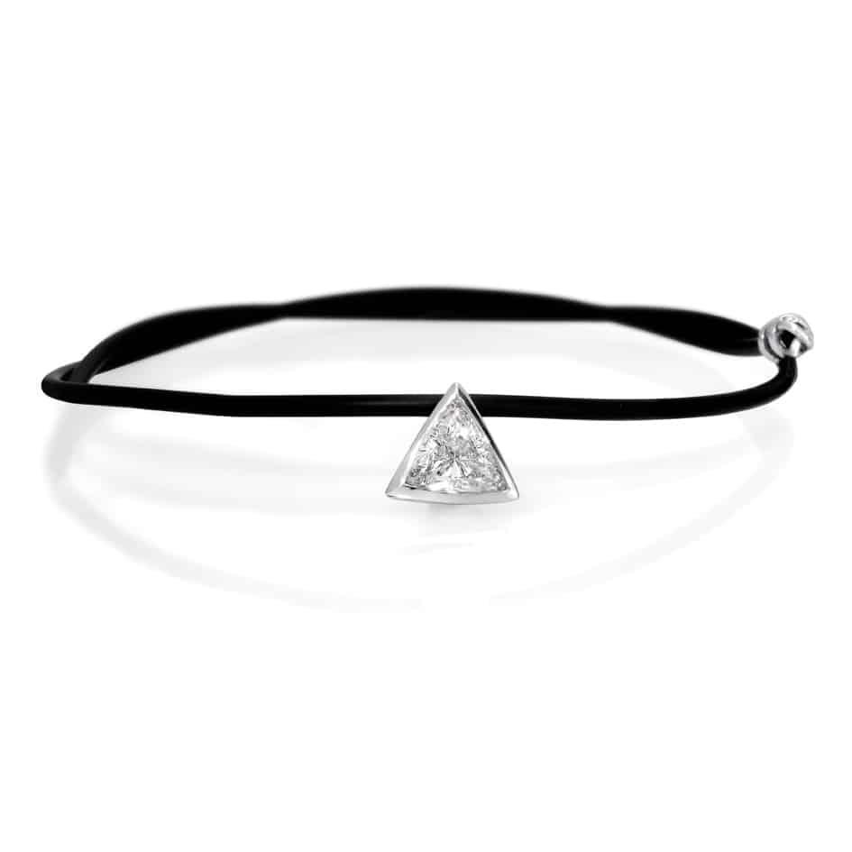 תליון יהלום בחיתוך Triangle