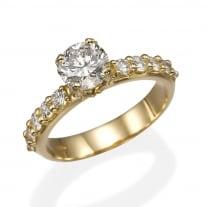 טבעת יהלומים כתר משודרגת