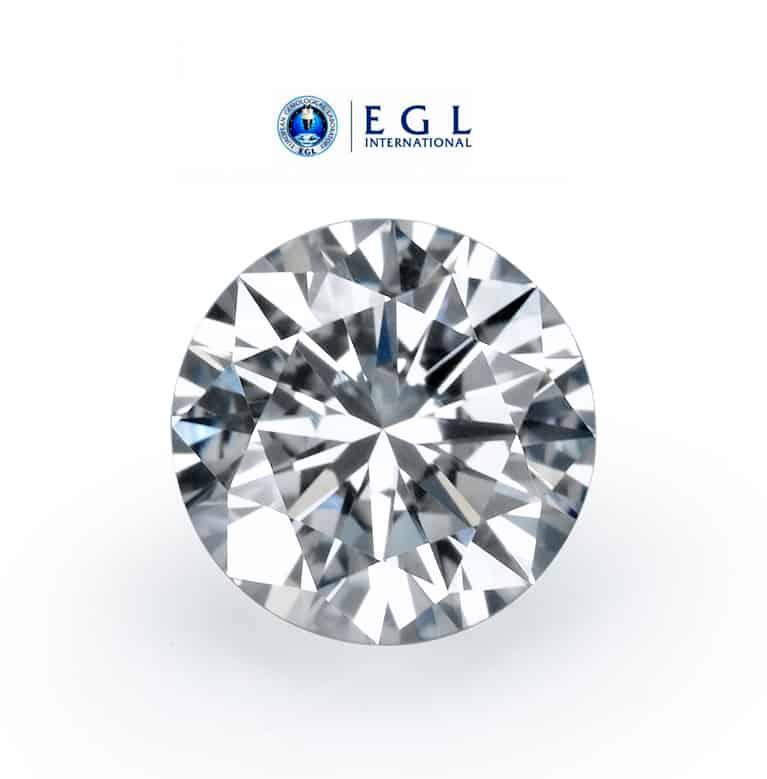 יהלום 0.50 קרט F/SI1